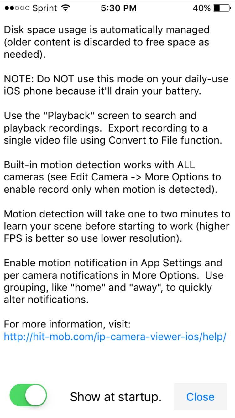 FDT Recording/Playback with IP Camera Viewer – FDT
